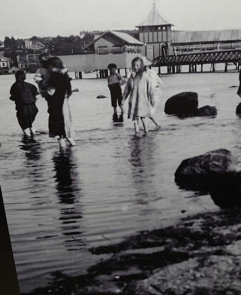 Bilde av Strømbadet og badeliv
