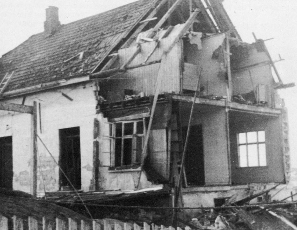 Bilde av Flyangrep 20. mars 1945