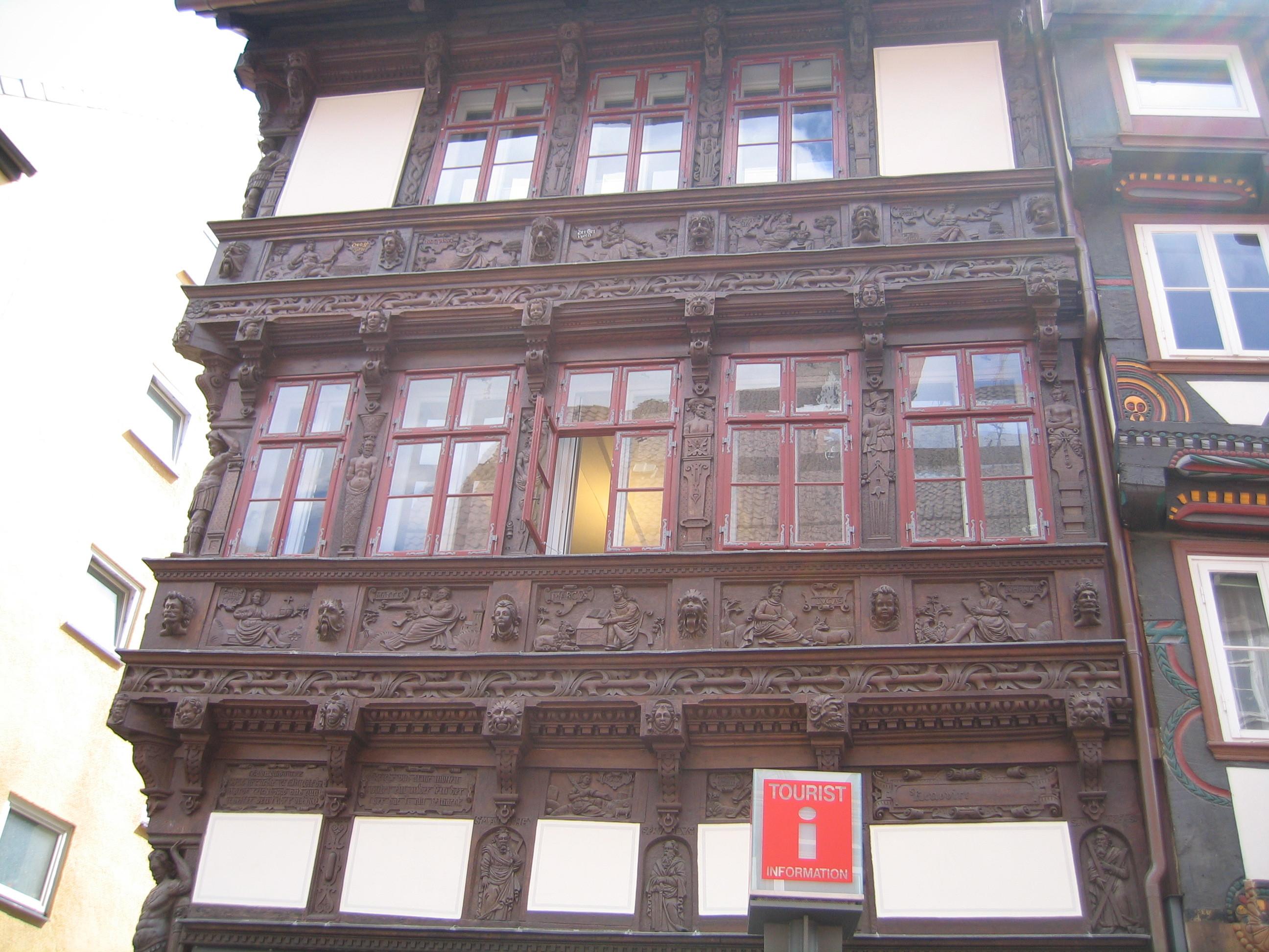 Bilde av Eickesche Haus i Einbeck.