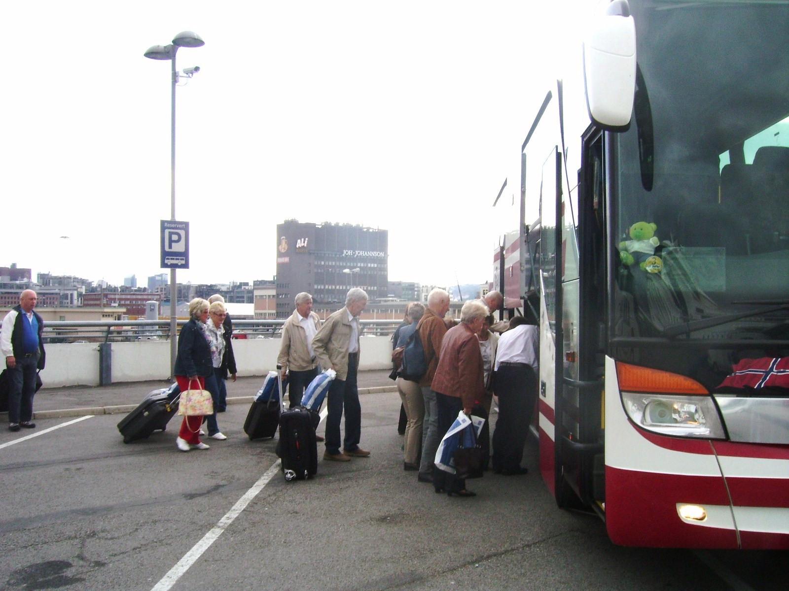 Bilde av Ferge terminalen Oslo.
