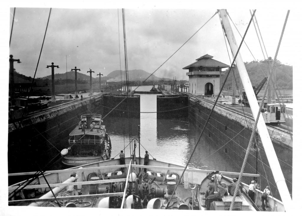 Bilde av Slusene i Panamakanalen