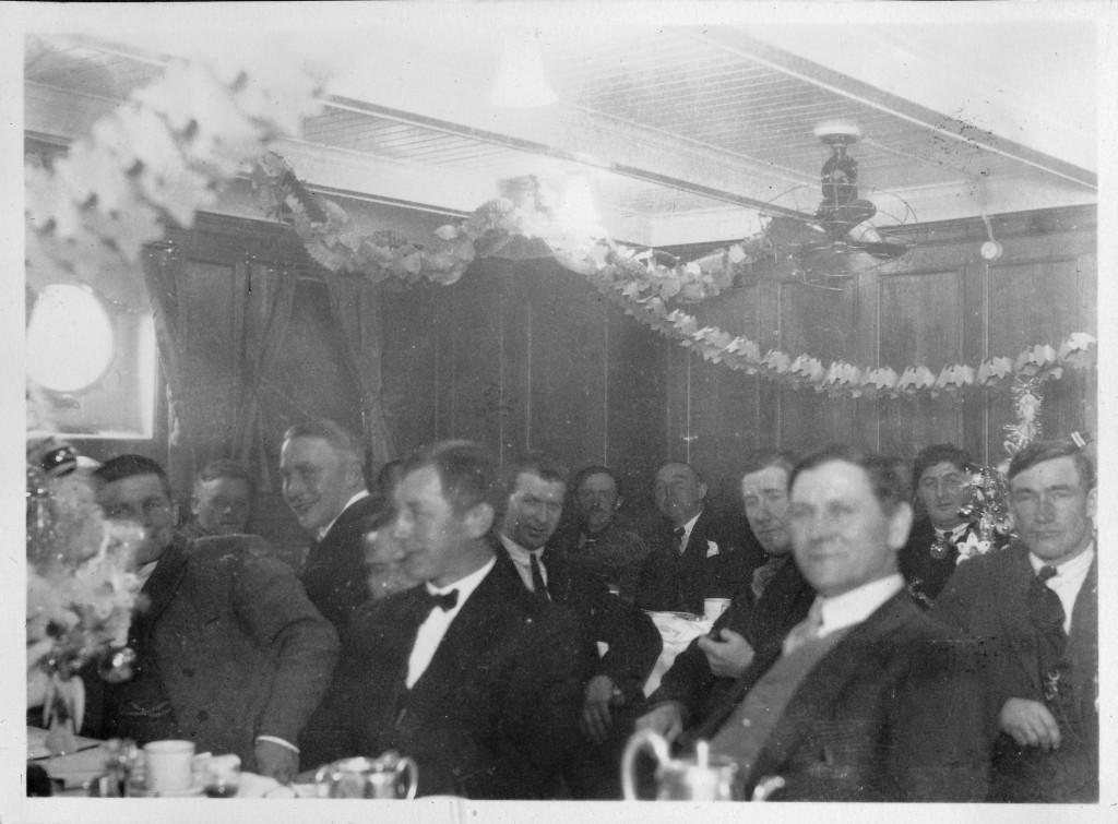 Bilde av Julaften i salongen