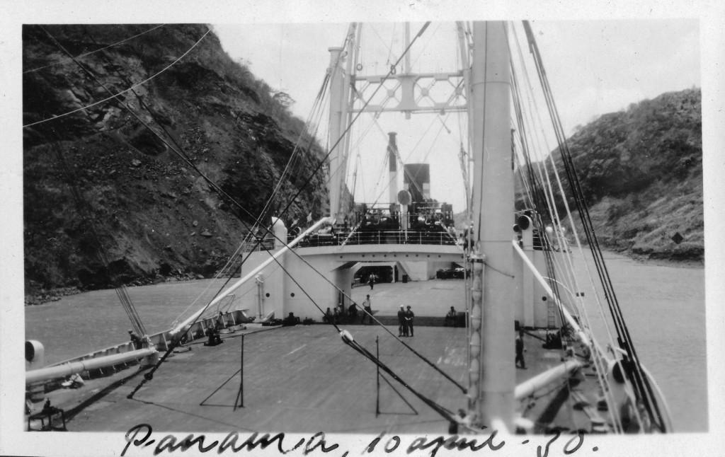 Bilde av Hjemover 13. april 1930