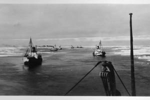 Bilde av KOSMOS-EKSPEDISJONEN TIL ROSSHAVET I 1929-30