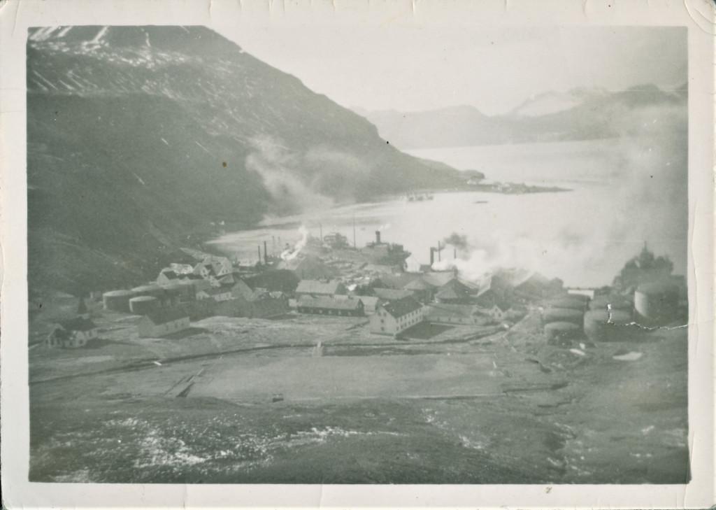 Bilde av Grytviken landstadsjon.