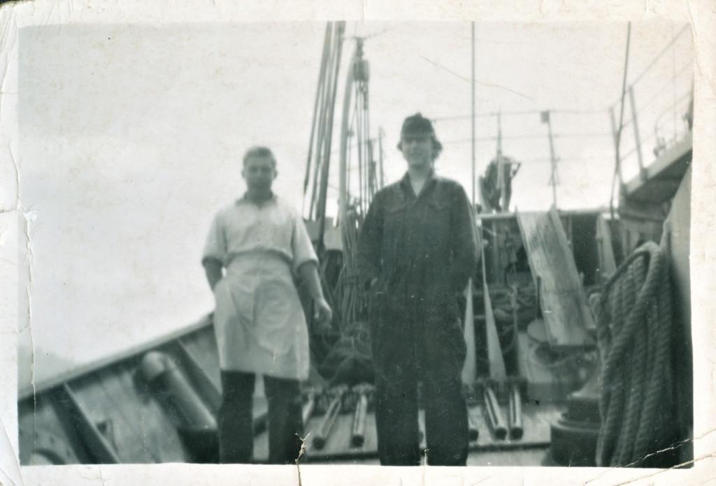 Bilde av Grytviken 1955.