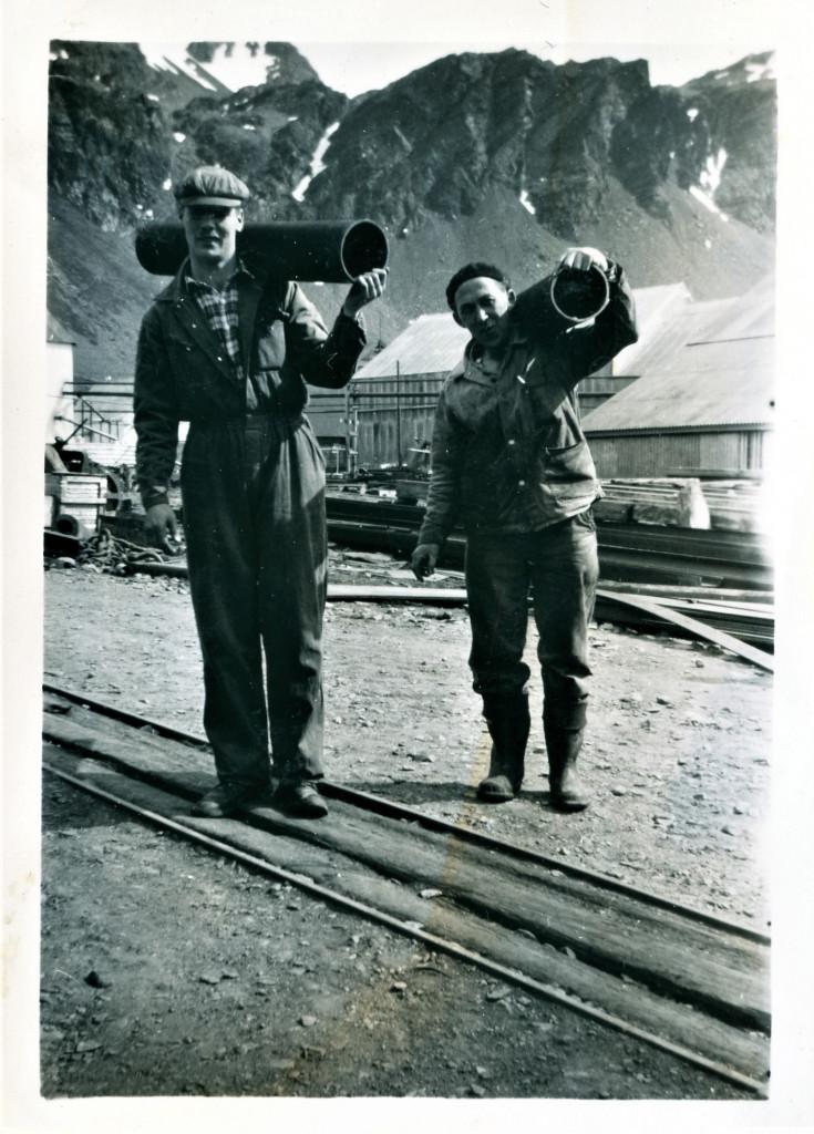 Bilde av Grytviken 1958.