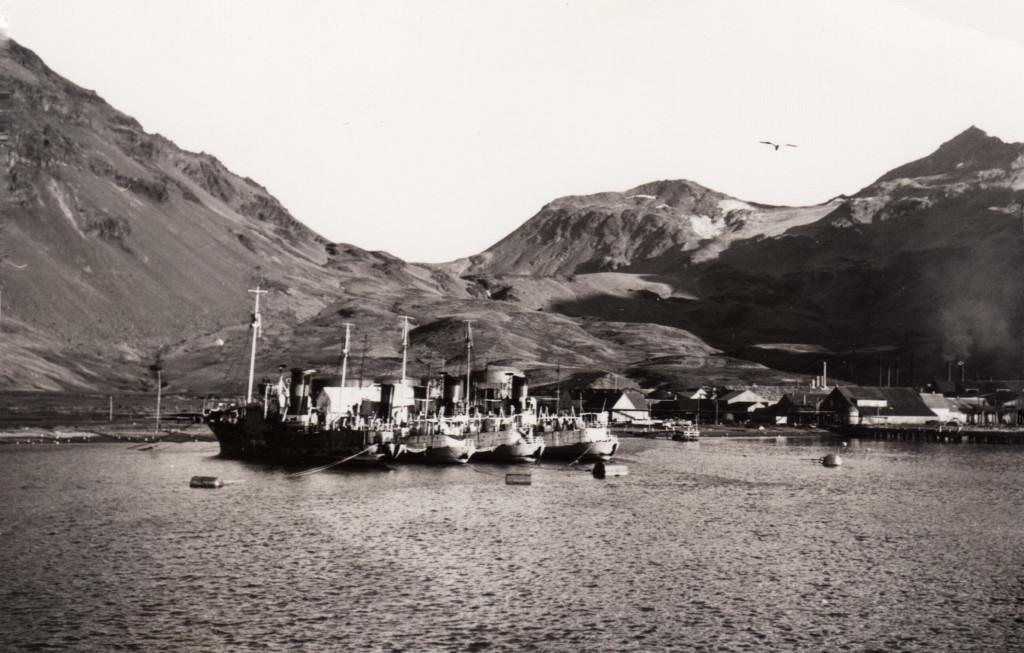 Bilde av Hvalbåter i opplag.