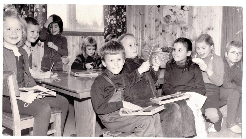 Bilde av Veving i barnehagen