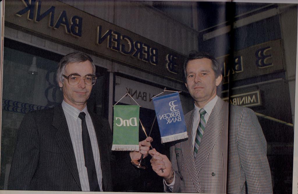 Bilde av Bergen Bank fusjonerer med DnC