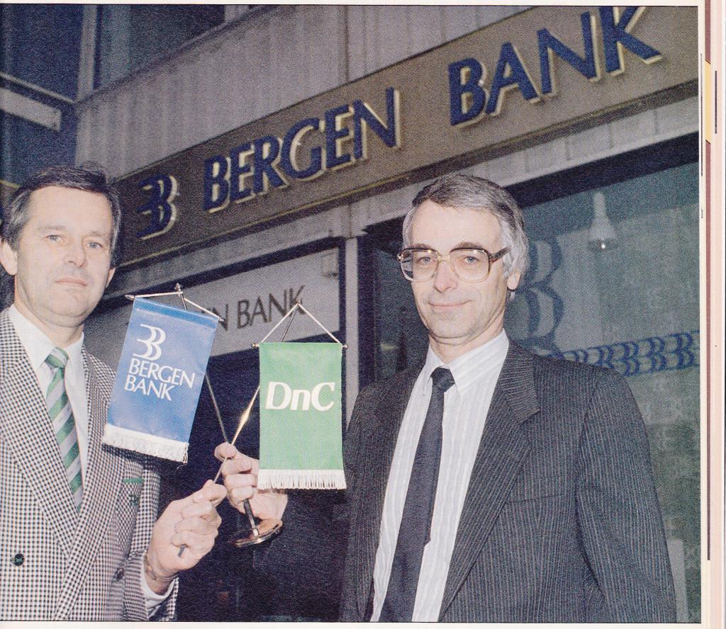 Bilde av Bergen Bank og DnC til DNB