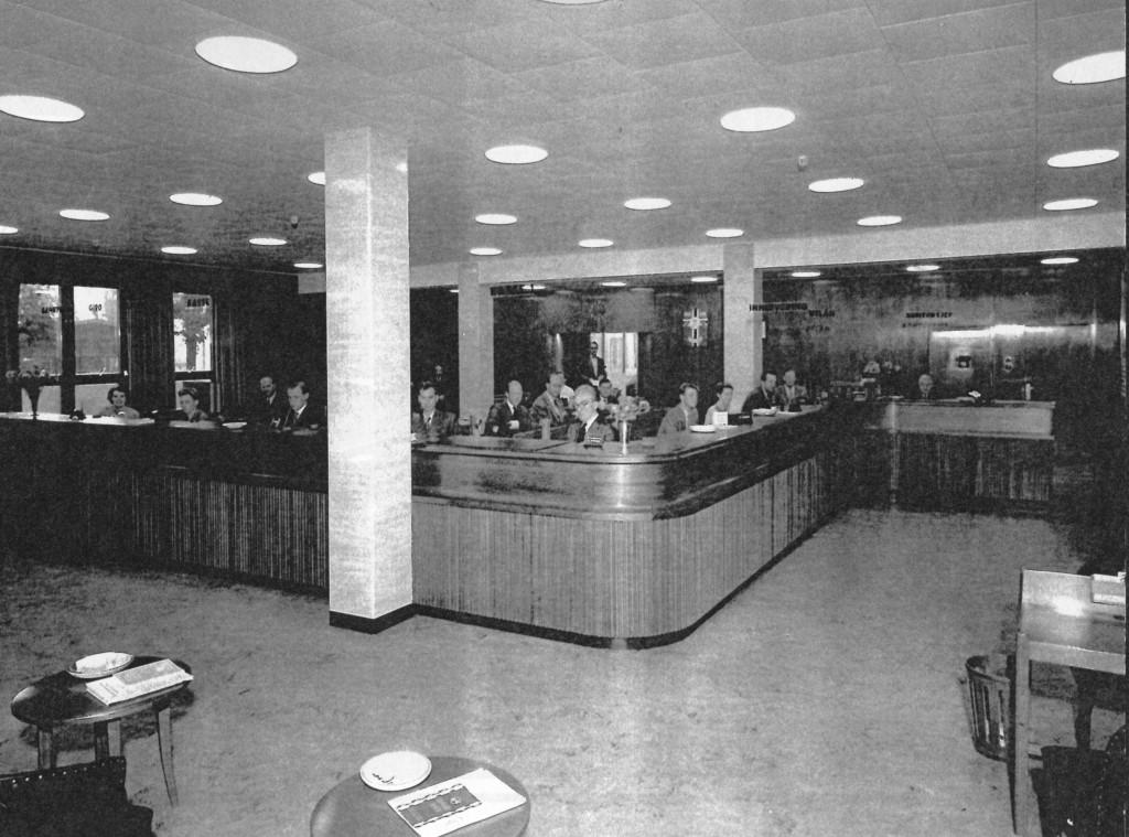 Bilde av Privatbanken i Sandefjord A/S Banklokalet