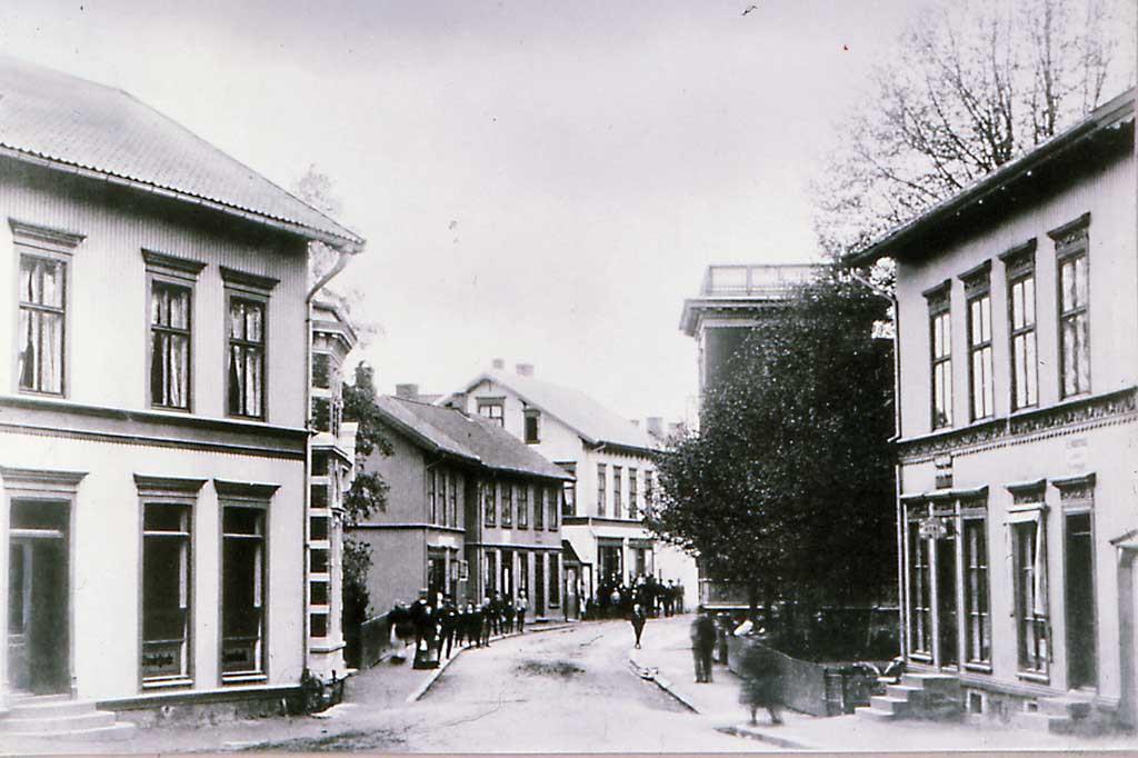 Bilde av Sandefjords Sparebank. Lokaler