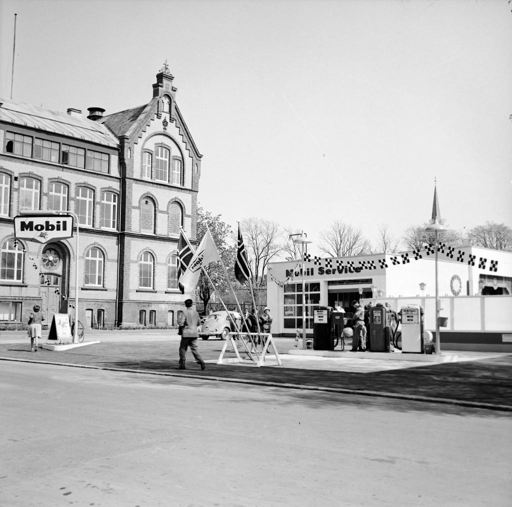 Bilde av Åpning av stasjonen