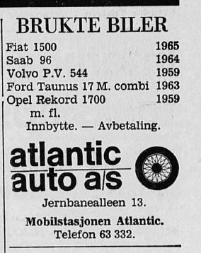 Bilde av Annonse - 1967