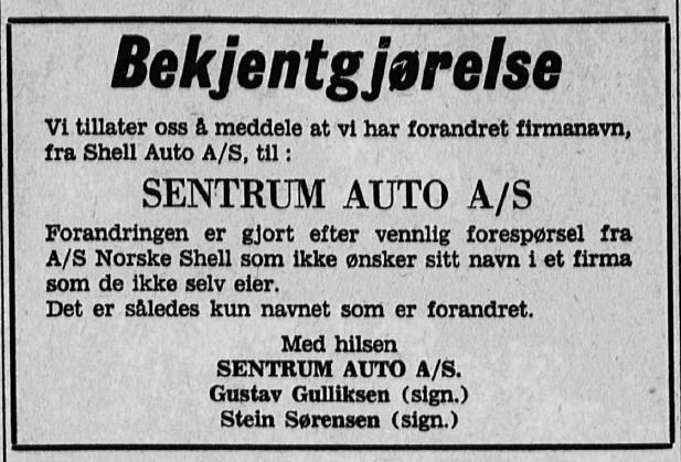 Bilde av Bekjentgjørelse - 1968
