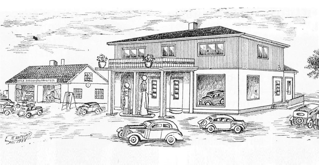 Bilde av Tegning 1938