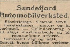 Bilde av Sandefjord Automobilverksted