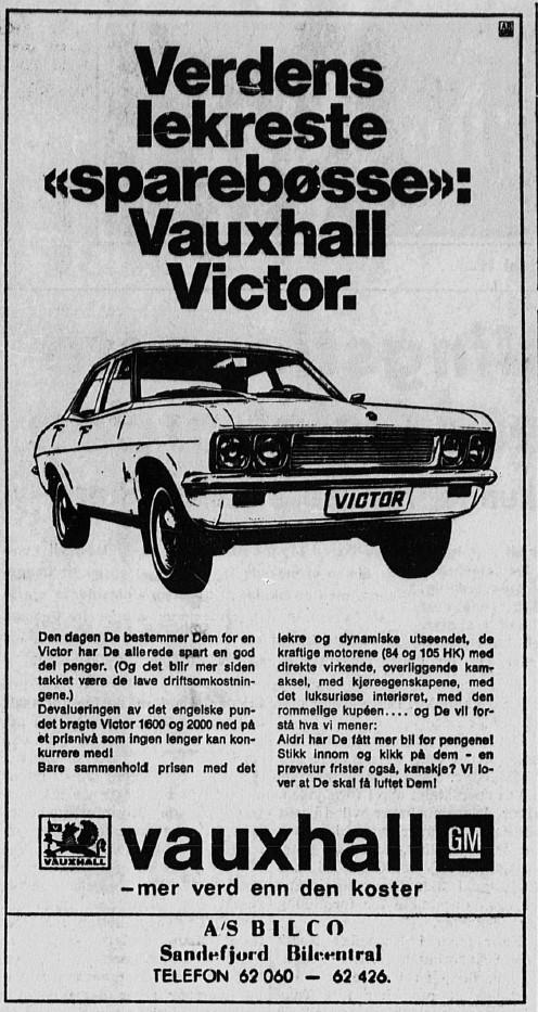 Bilde av Annonse 1969