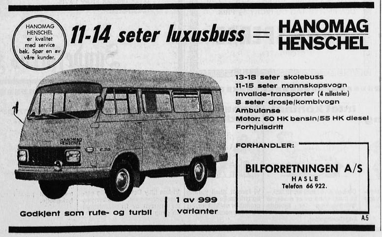 Bilde av Annonse 1971