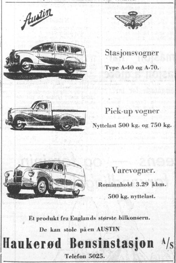 Bilde av Annonse 1952
