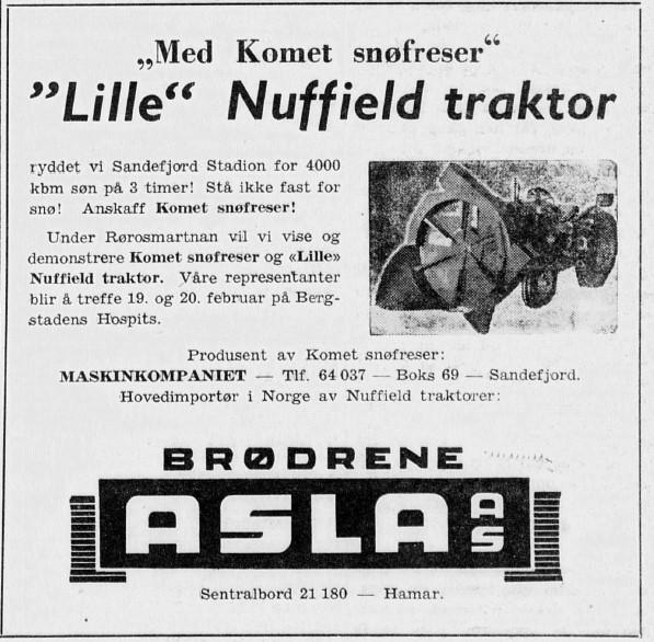 Bilde av Annonse 1958