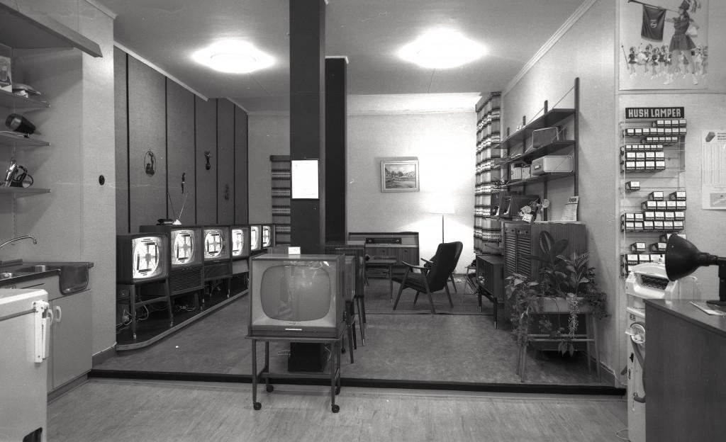Bilde av Interiør Bingens Elektromagasin