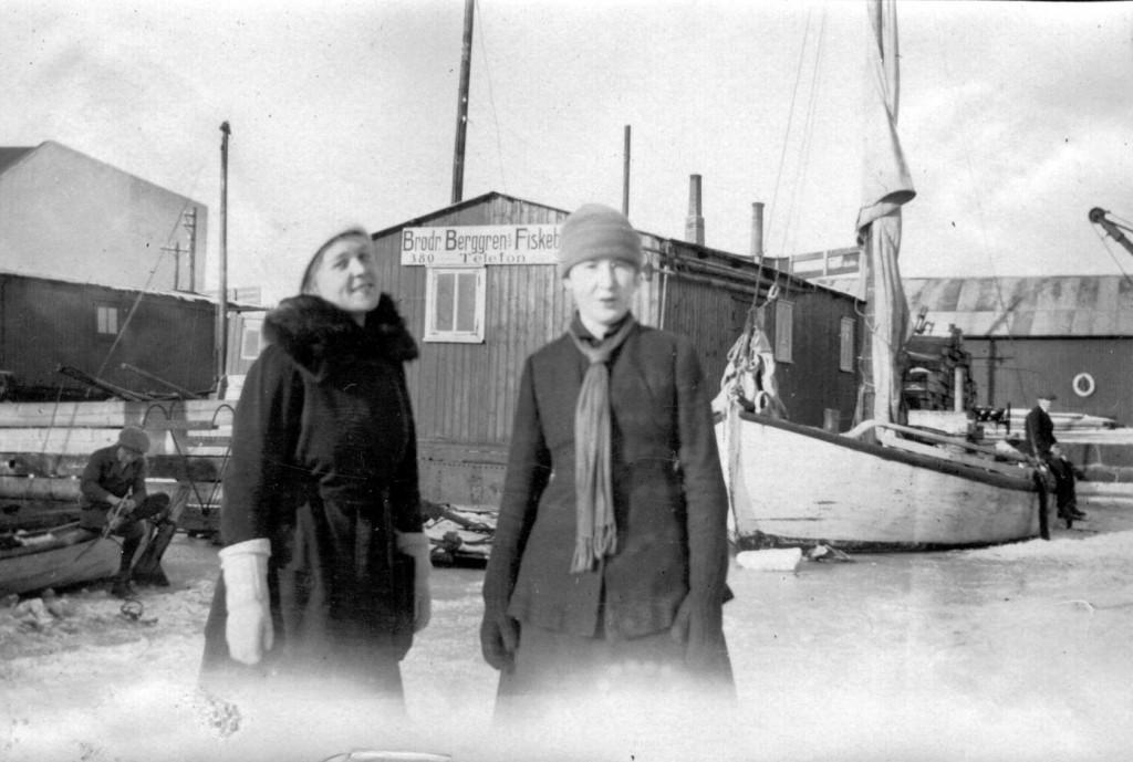 Bilde av Berggren og Jenny 1918