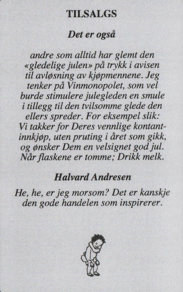 Bilde av Halvar Andresen