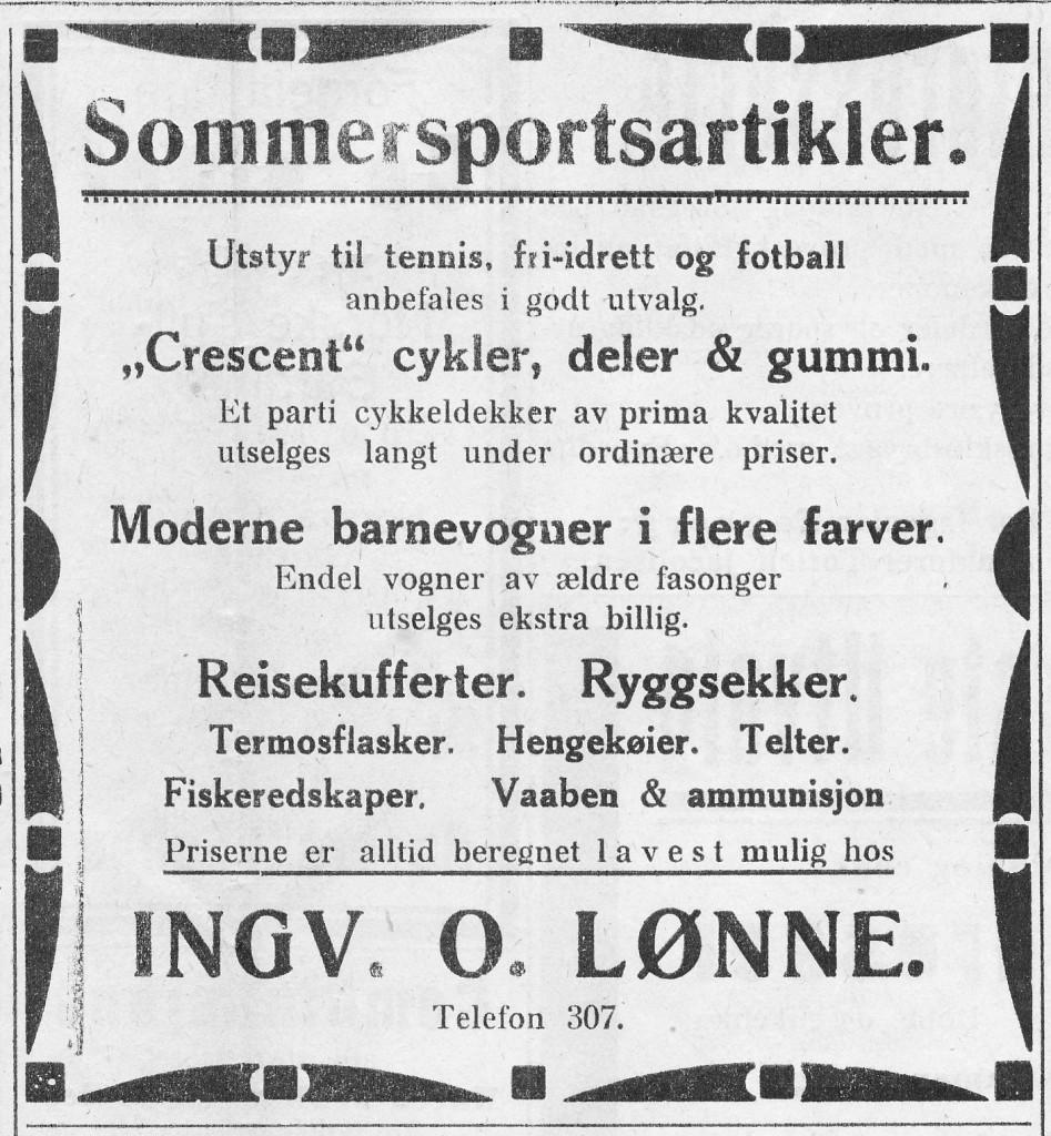 Bilde av Annonse fra 1928