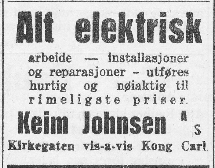 Bilde av Annonse 1928