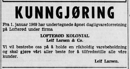 Bilde av Gjenåpning 1969