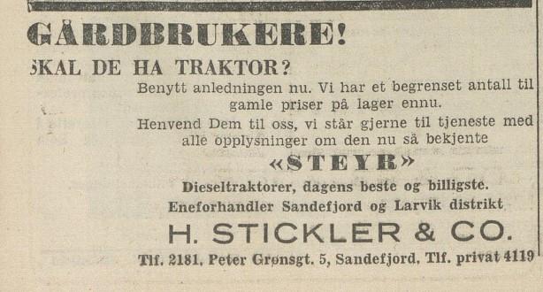 Bilde av Annonse 1951
