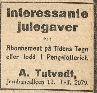 Bilde av Annonse 1933