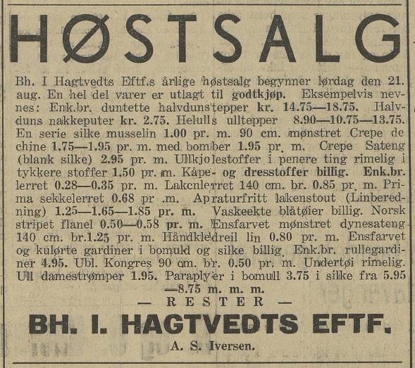 Bilde av Annonse 1937