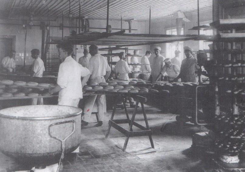 Bilde av Bakeriet i 1920