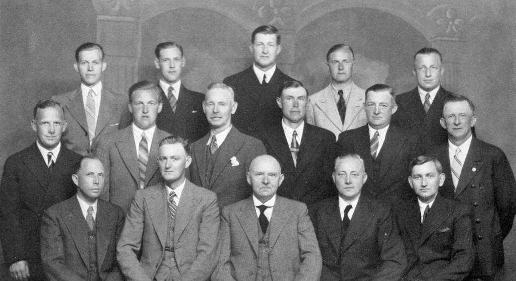 Bilde av A/S Thor Dahl Skipshandel, ansatte i 1937