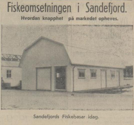 Bilde av Sandefjord Fiskebasar