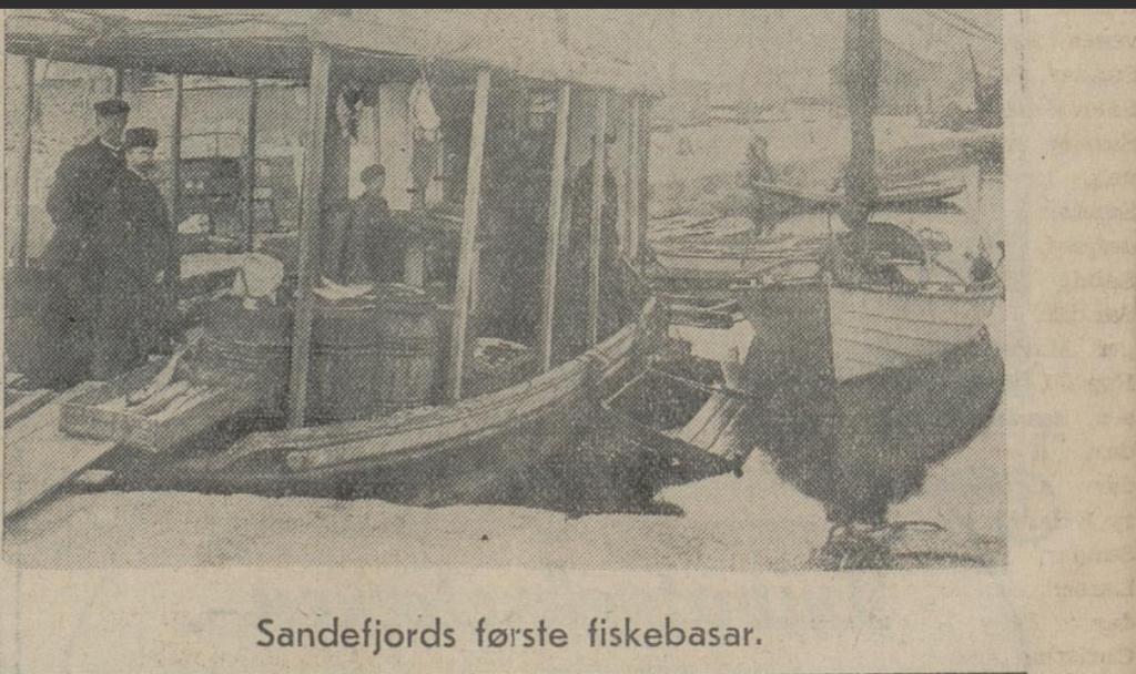 Bilde av Sandefjords Fiskebasar