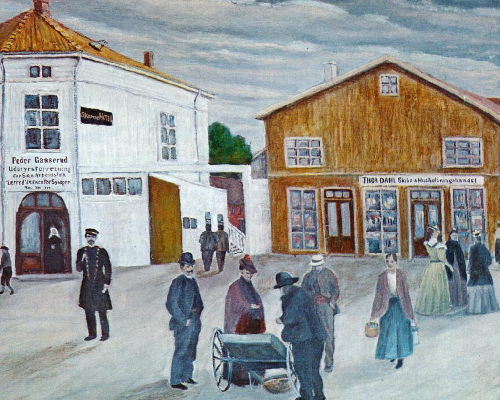 Bilde av A/S Thor Dahl Skipshande.  Lokaler.