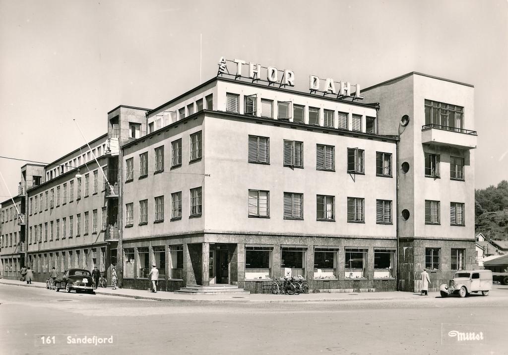 Bilde av A/S Thor Dahl Skipshandel. Lokaler. Thor Dahlsgate 1-3