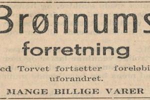 Bilde av A. Brønnum / ved Torget
