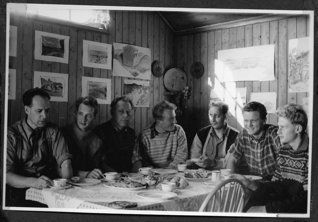 Bilde av A/S Thor Dahl Skipshandel, Bedriftshytta Nimbus i Vestre Kodal