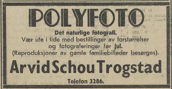 Bilde av Annonse - 1939