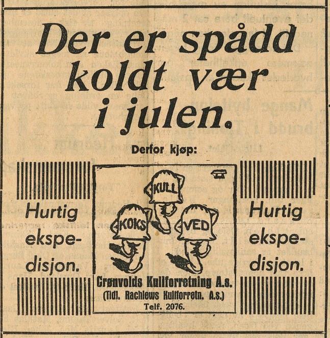 Bilde av Annonse - 1933