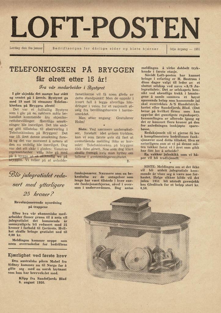 Bilde av 6. januar 1951 - 3. årgang