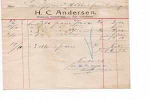 Bilde av Andersen, H. C.