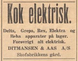 Bilde av Annonse - 1929