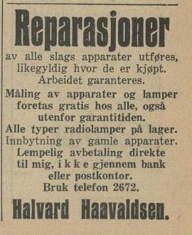 Bilde av Annonse - 1937