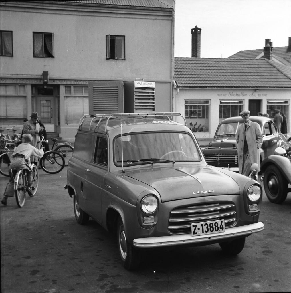 Bilde av Radiobil (høytalerbil) Aagaards plass